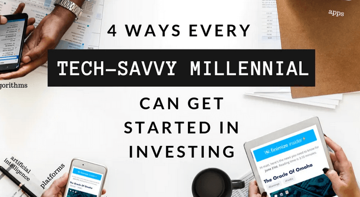Four Ways for Millennials to Get into Investing