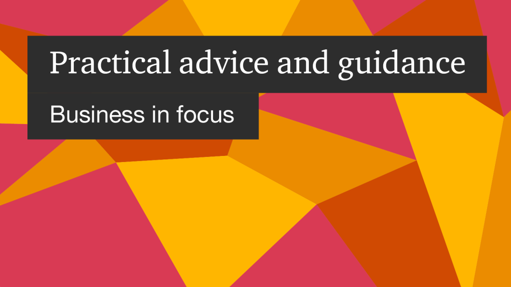 Practical Advice from Experts